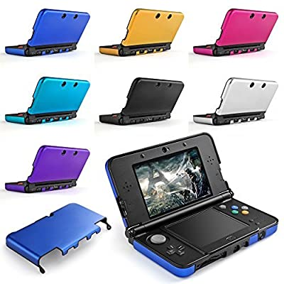 TNP New 3DS 3DS XL Case - Plastic + Aluminium Full Body Protective Snap-on Hard Shell Skin Case Cover for New Nintendo 3DS & 3DS XL 2015 from TNP Products