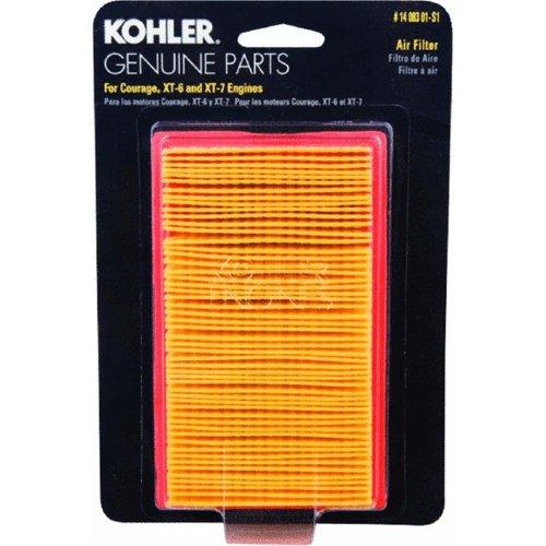 Kohler 14 083 01-S1 Engine Air Filter Kit For Courage Xt Series Engines