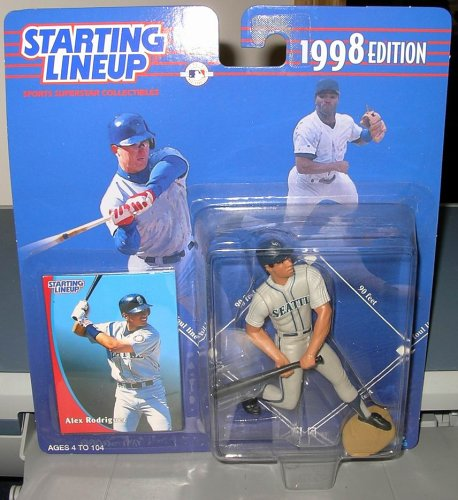 "STARTING LINEUP MLB "" ALEX RODRIGUEZ"" 1998 - 1"