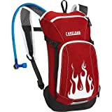Camelbak Kids Mini Mule 1.5 Litre Hydration Pack - Red Flames, 50oz