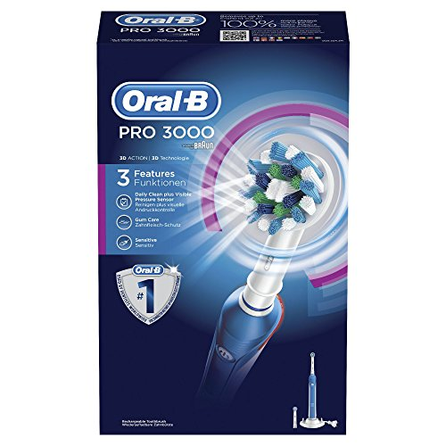 Oral-B Pro Cross Action 3000 Rechargeable Electric Toothbrush