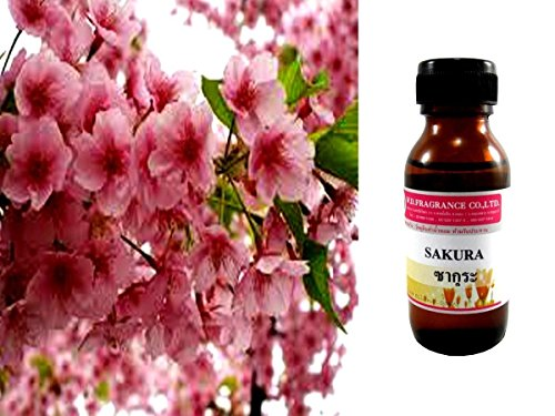 Cherry Blossom Fragrance Essential Oils Perfume Soap Massage Spa Diffuser 30 ml ;GE5812-GJY/4E1D27291