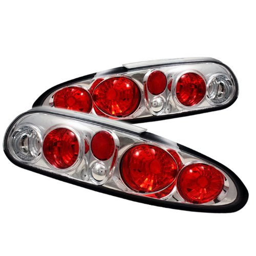 Spyder Auto Alt-Yd-Ccam98-C Chevy Camaro Chrome Altezza Tail Light
