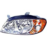 Depo 323-1110L-AS Kia Spectra Driver Side Replacement Headlight Assembly