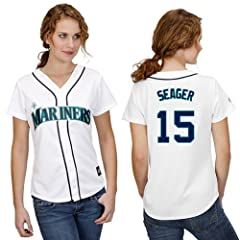 Kyle Seager Seattle Mariners Home Ladies Replica Jersey by Majestic by Majestic