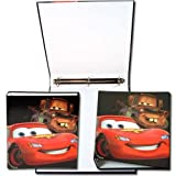 Disney Cars 2 3 Ring Hard Cover Binder