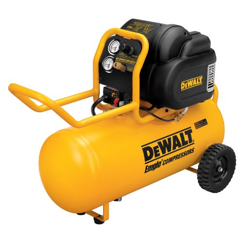 DEWALT D55167 1.9 HP 200 PSI Oil Free High Pressure Low Noise Horizontal Portable Compressor