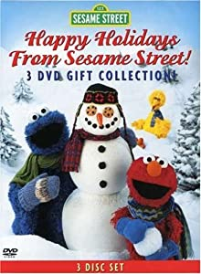Happy Holidays From Sesame Street 3-dvd Gift Col from Sesame Street
