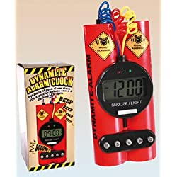 Dynamite Alarm Clock Dyamite Digital Alarm Clock With Bomb Sound Wakeup & Flashing Led