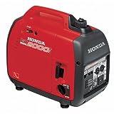 Honda EU2000I 2000 Watt Portable Generator with Inverter (Color: Red, Tamaño: 20.1 X 16.8 X 11.4 inches)