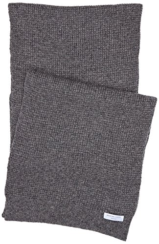 selected-homme-mens-wrigley-id-scarf-medium-grey-melange-one-size