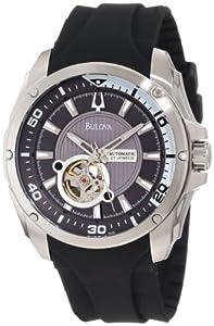 (奢侈)宝路华Bulova Men's Automatic strap Watch型男腕表$198.66