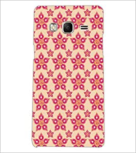 PrintDhaba Pattern D-5254 Back Case Cover for SAMSUNG Z3 (Multi-Coloured)