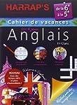 Harrap's cahier de vacances anglais 6�me