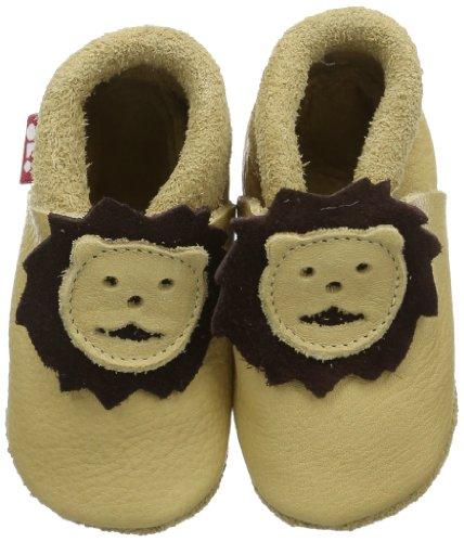 Pololo Leonardo valonea 1-02-104, Pantofole unisex bambino - Beige