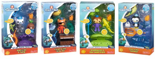 Fisher-Price Fisher Price Octonauts Action Figure 4 Pack Playsets Barnacles Kwazii Shellington Peso at Sears.com