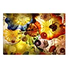 Feeling Hypnotic Abstract Canvas Wall Art, 5 Stars Gift 23.62 x 35.43 inch Startonight