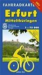 Fahrradkarte Erfurt - Mittelth�ringen...