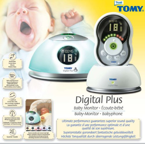 tomy td350 digital plus baby monitor at shop ireland. Black Bedroom Furniture Sets. Home Design Ideas
