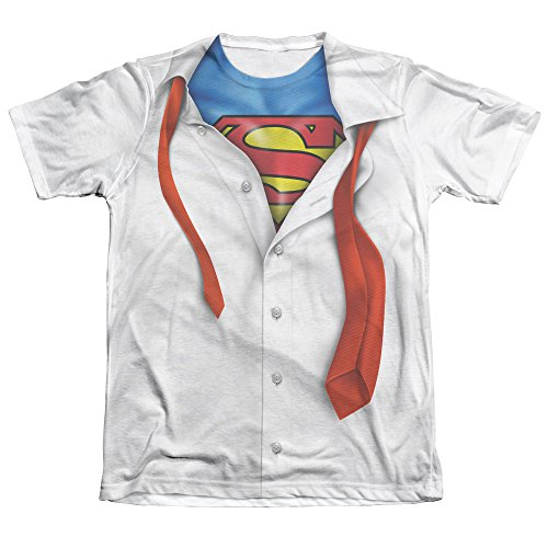 Official Superman Ripped Costume Men's T-Shirt MISC.#90 #91