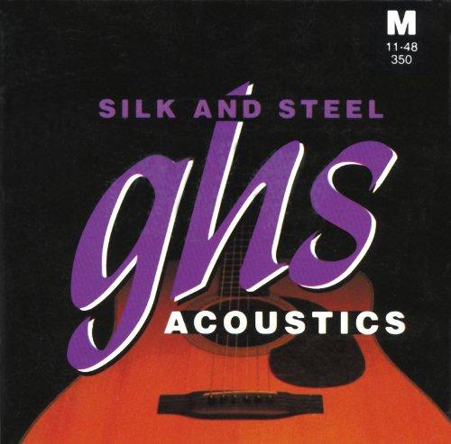 GHS Strings Acoustic guitar Set (Medium, Silk