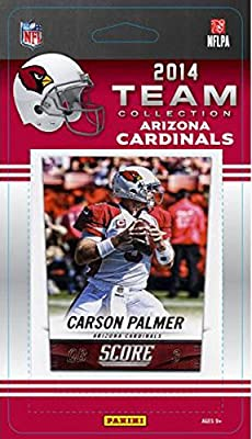 Arizona Cardinals 2014 Score NFL Football Factory Sealed 10 Card Team Set Including Carson Palmer, Larry Fitzgerald Plus