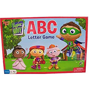 Click to buy Reading Games for Kids:  University Games Super Why ABC Letter Preschool Gamefrom Amazon!