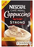 Nescafe Cafe Menu Cappuccino Strong 10 Sachets