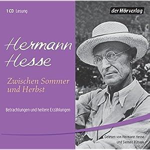 Zwischen Sommer und Herbst, 1 Audio-CD. Betrachtungen und heitere Erzählungen