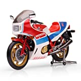 Honda CB1100R (1982) in Red, White and Blue (1:12 scale) Diecast Model Motorbike