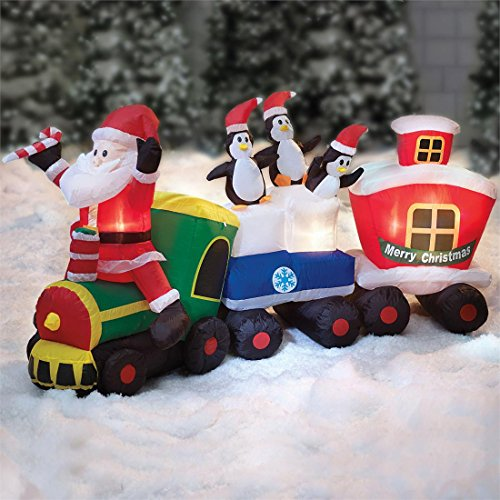 Christmas Inflatable Train front-966682