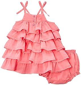 3 Pommes Dress +Bloomer - Vestido para bebé-niños