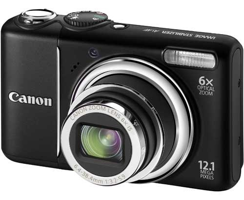 Canon PowerShot A2100IS 12.1 MP Digital Camera with 6x Optical Image Stabilized Zoom and 3.0-inch LCD