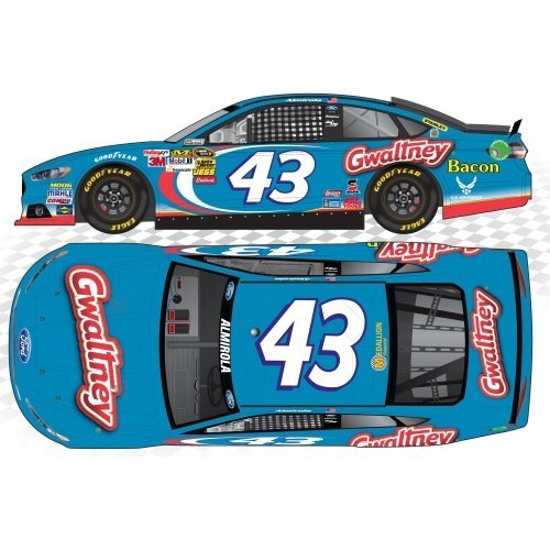action-racing-collectibles-2013-aric-almirola-43-gwaltney-164-kids-hardtop-die-cast-ford-fusion-by-a