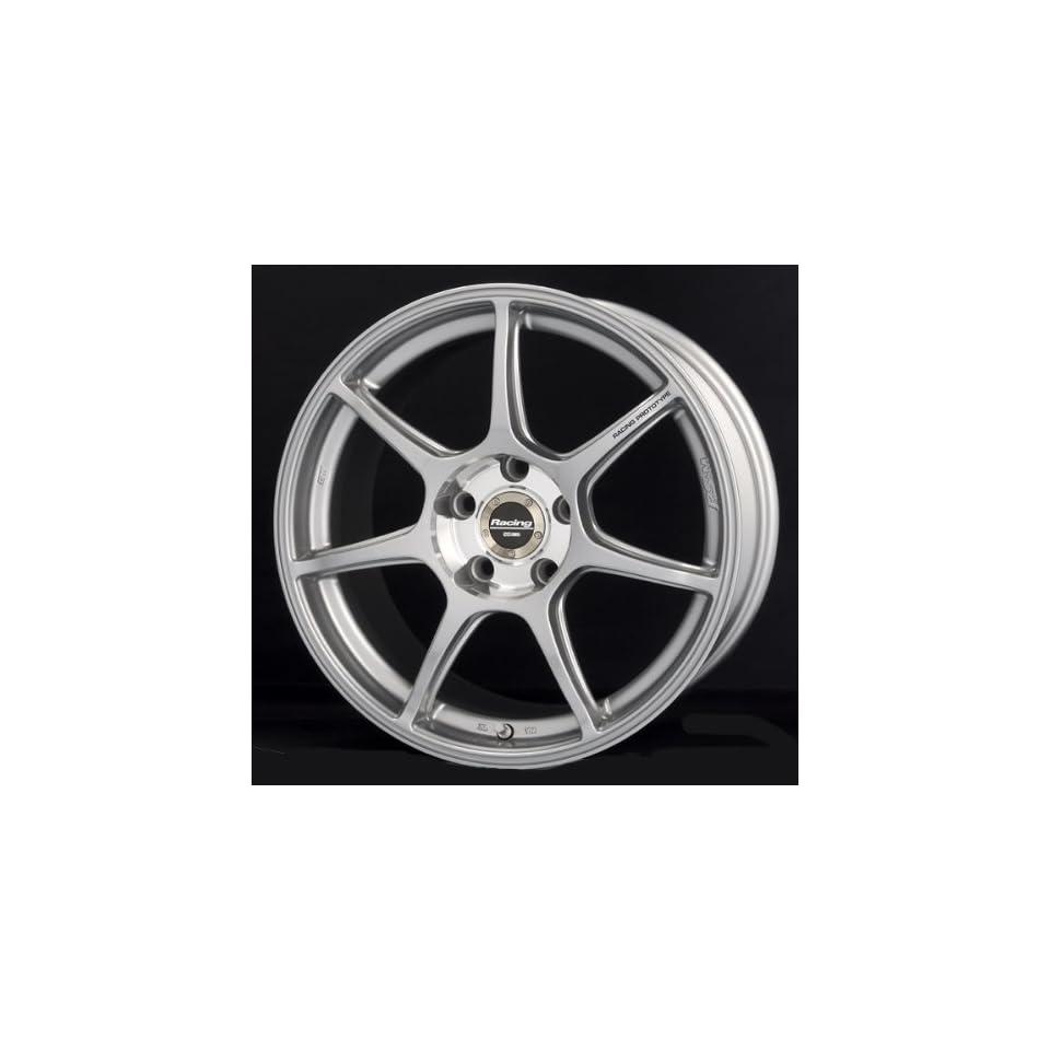 17x8 Enkei RS+M (Silver) Wheels/Rims 5x100 (397 780 8045SP)