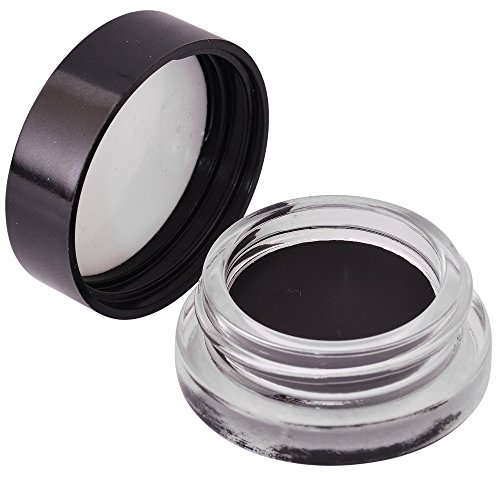 Black Gel Liner Smudge Pot Makeup - Long Lasting Blackest Drama Eye Look, Non Waterproof Creamy Cosmetic Formula That Can Be Applied With A Professional Angled Brush For Extra Precision & Easy Glide (Cargo Lip Liner compare prices)