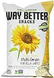 Way Better Snacks Tortilla Chips, Multigrain, 5.5 Ounce