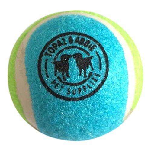 Artikelbild: Hunde Tennisbälle von Topaz & abbieâ ©, Hund Bälle, ungiftig & Nicht Abrasiv Hund Tennis Ball perfekt für FETCH & Training Balls 3Pack