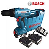 Bosch Cordless Screw Driver GSR1800-Li 2xLI-ION 18V Battery Operated Cordless Drill Driver