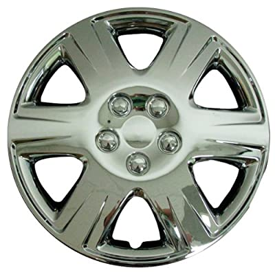 CCI IWC422-15C 15 Inch Clip On Chrome Finish Hubcaps - Pack of 4
