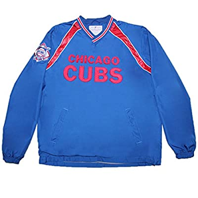 BIG & TALL MLB CHICAGO CUBS Mens Fall / Winter Wind Breaker Jacket with Lining