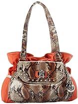 Hot Sale KATHY Van Zeeland Uptown Girl Shoulder Bag,Sunset,One Size