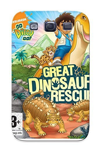 Honeyhoney High Grade Flexible Tpu Case For Galaxy S3 - Go Diego Go Great Dinosaur Rescue Get Review Price And Ave Money( Best Gift Choice For Thanksgiving Day)