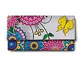 ShopMantra multi flower Multicolor Ladies Wallet LW00000227