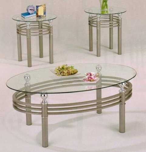 Low Metal And Glass Coffee Table: Buy Low Price Coffee Table With Cross Metal Base In Chrome
