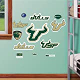 NCAA South Florida Bulls Junior Logo Assortment Wall Graphic