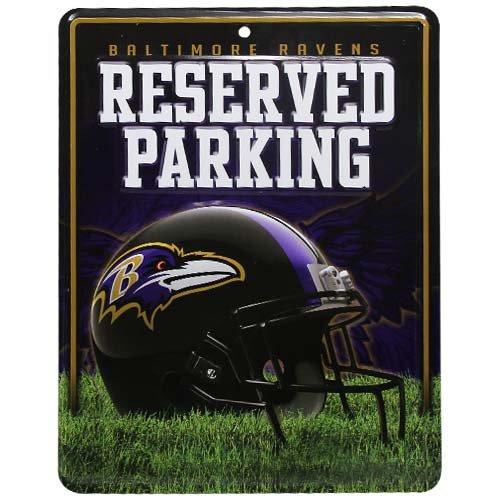 NFL Baltimore Ravens Parking Sign