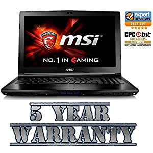 New MSI Gaming Laptop Intel i7 Quad Turbo,12GB DDR4 Ram, SSD, 2 Graphics Cards-2GB GTX! 1TB HDD,Windows 10,inc 5 Year Warranty