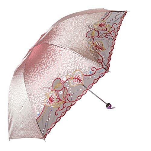 [KROGL KROGL050C1 Embroidered Women Umbrellas] (Traveling Circus Costume)
