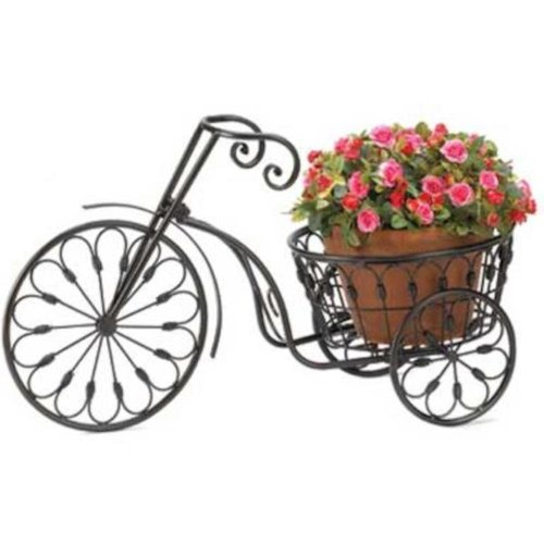 Summerfield Terrace Nostalgic Bicycle Home Garden Decor Iron Plant Stand